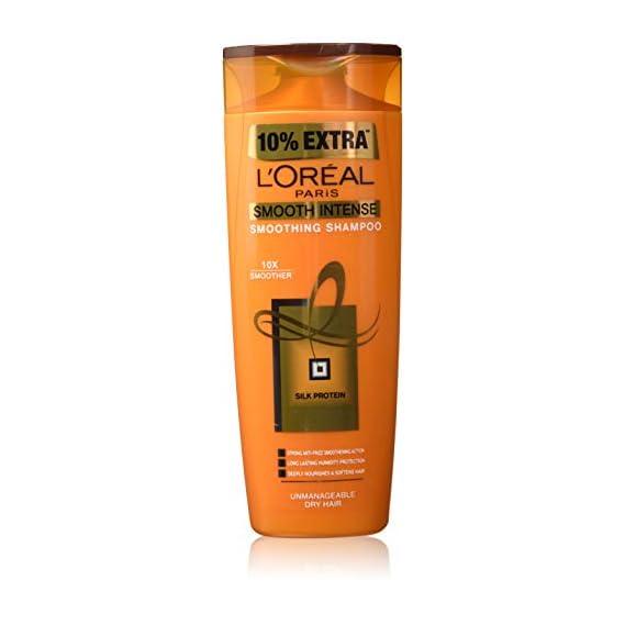 L'Oreal Paris Hair Expertise Smooth Intense Shampoo, 360ml+36ml