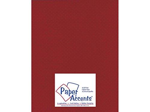 Accent Design Papier Akzente Mini Dots 8,5x 1180# Crimson Beauty -