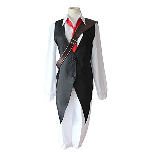 Day Dress Kostüm World Book Up - DXYQT Anime Cosplay Anime Charakter Leistung Kleidung Halloween Kostüm Full Set World Book Day Kostüm,Shirts Vests Ties Pants Bags-M