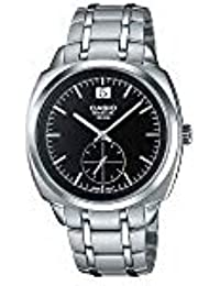 CASIO BEM-150D-1AV - Reloj de caballero analógico Casio BESIDE. Acero inoxidable