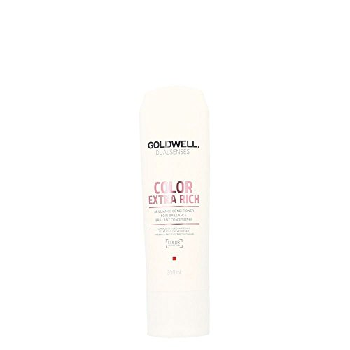 Goldwell Dualsenses Color Extra Rich Brilliance Conditioner, 1er Pack (1 x 200 ml) (Conditioner Extra-feuchtigkeit)