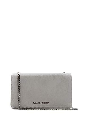 Lancaster Paris Damen 51910Ecru Beige Leder Schultertasche