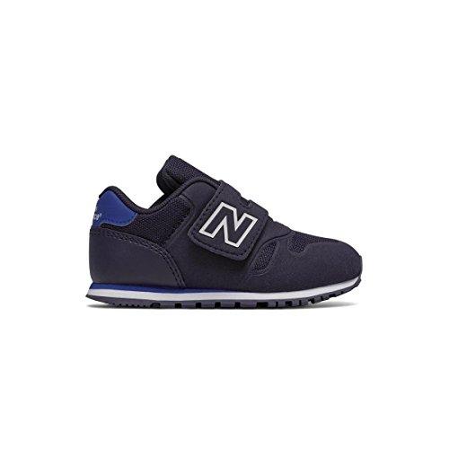 Schuhe New Infant Balance (NEW BALANCE - Blauer Sportschuh infant 373, aus Synthetik und Mikrofaser, mit Klettverschluss, Jungen-20)