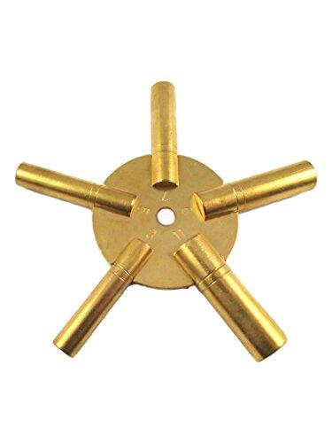 Sternschlüssel Ungerade Nummern Aufziehschlüssel Großuhren Regulateure Kaminuhren