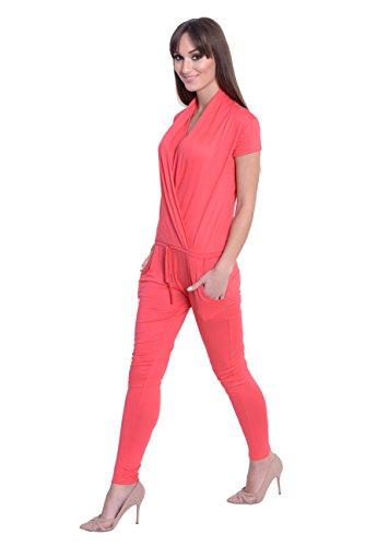 AE - Tuta -  donna Rosso