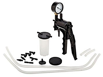 PMD Products Brake Fluid Bleeder Hand Vacuum Pump Tester Kit w/ Adapters Case