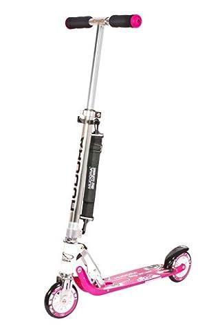 HUDORA Big Wheel 125 mm, pink - Scooter Kinder Roller - 14742