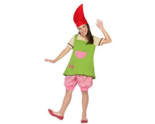 , Mädchen, Größe 104, bunt (Kobold-kinder Kostüm)