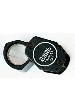 Preisvergleich Produktbild BelOMO 10x Triplet Loupe Folding Magnifier, No Lanyard by BelOMO