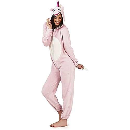 pijama de unicornio kawaii Martildo Fashion, Damas Lujosas Unicornio 3D Todo En Uno En Un Traje Mono