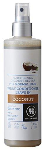 Urtekram Kokos Leave-In Spray Conditioner Bio, normales Haar, 250 ml -