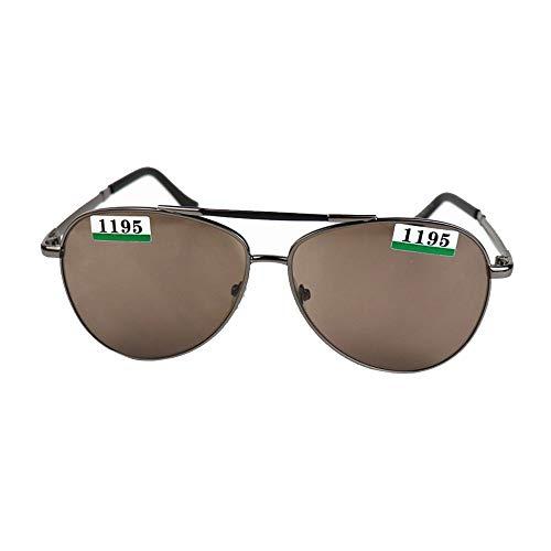 WULE-RYP Polarisierte Sonnenbrille mit UV-Schutz Mann-Klassische im Freien arbeitende Flieger-Sonnenbrille, natürliche Kristalllinse. Superleichtes Rahmen-Fischen, das Golf fährt (Farbe : Sunglasses)