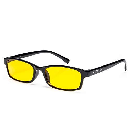 PROSPEK COMPUTER BRILLEN: Anti Blaulicht Computer Brillen Elite. Anti-Blendschutz, Anti-Reflektierend, Anti- Ermüdung, Schutz vor UV und Computer-TV elektromagnetischen Strahlen, Anti-Schleier
