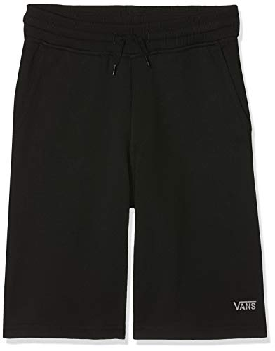 Vans Jungen Core Basic Ft Boys Short, Schwarz (Black Blk), Small (Herstellergröße: Regs) - Vans Shorts Schwarz