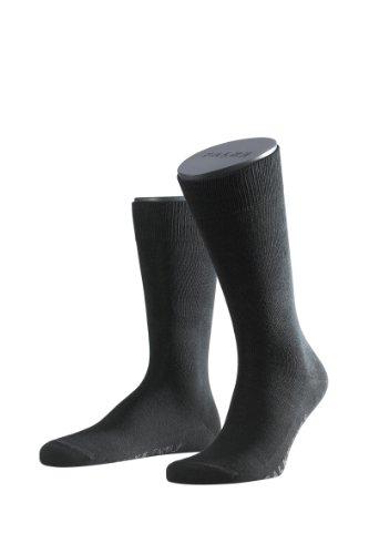 falke herrensocken FALKE 14645/6370 Herren Socken, Schwarz,43/46