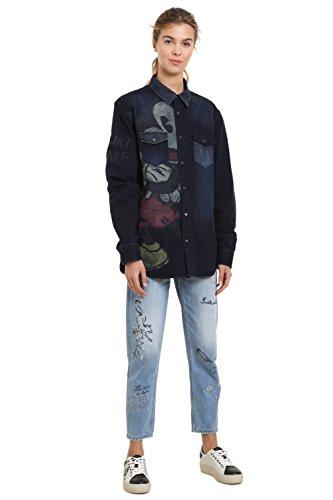 Desigual Hemd Walt Hemden SKU: 18WWCW31 (Medium)
