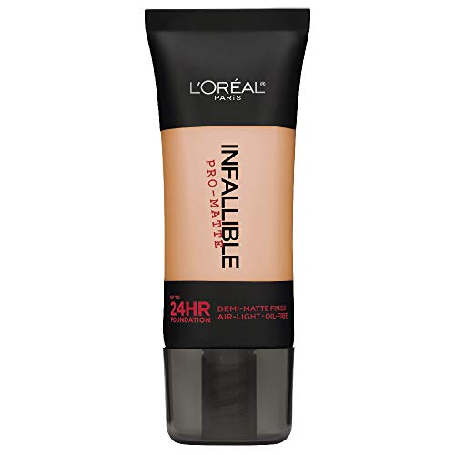 Natural Matte Foundation (L'OREAL Infallible Pro-Matte Foundation - Natural Buff)