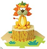 Jumping Clay - Lion - Air Dry Clay Modelling Kit