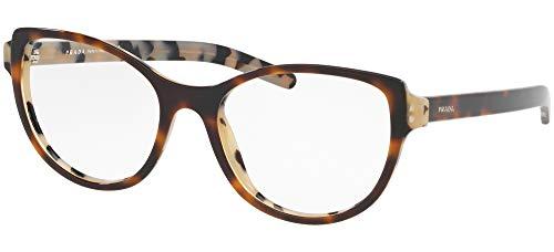 Ray-Ban Damen 0PR 12VV Brillengestelle, Schwarz (Top Dark Black Havana), 52.0
