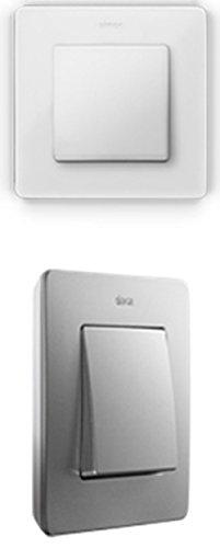Simon - 8200630-230 marco 3 elem detail blanco base