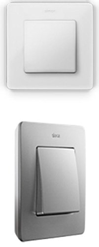 Simon - 8200630-230 marco 3 elem detail blanco base aluminio Ref. 6558401203