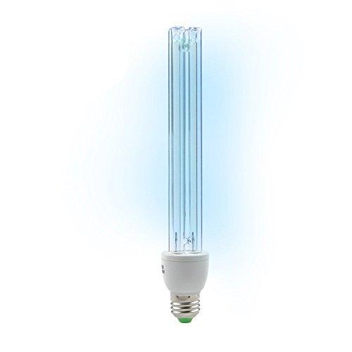 BRIGHTINWD LED 220 V 20 W UV-Ozon Sterilisation Lampe E27 Sockel antibakteriell Rate 99% UV-Desinfektion keimtötende Lichter[Energieklasse A+] (Keimtötende Uv Lampe)