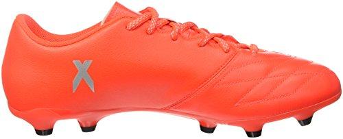 adidas Herren X 16.3 Fg Leather Fußball-Trainingsschuhe, Multicolore (Solred/Silvmt/Hirere), 42 EU