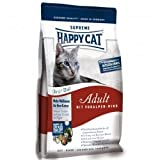 Happy Cat Fit & Well Adult Voralpen-Rind 4 kg, Futter, Tierfutter, Katzenfutter trocken