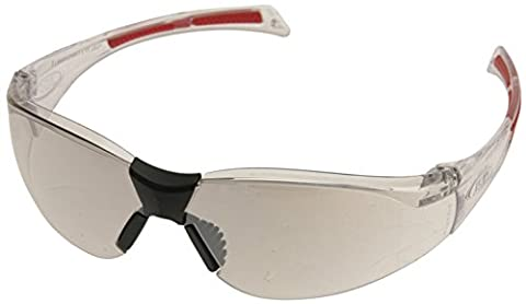 JSP ASA790-162-900 Stealth 8000 Clear Frame and Silver Indoor/ Outdoor