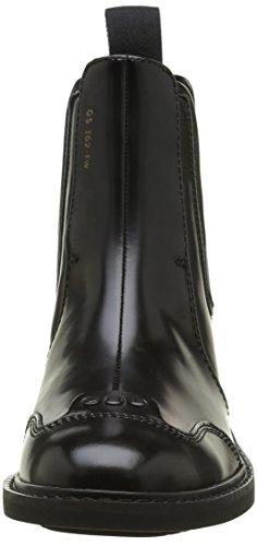 G-STAR Damen Guardian Leder Stiefel Schwarz (Black 990)
