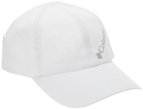 Columbia Hüte Zubehör (Columbia Damen Silver Ridge Ball Cap Kappe, Größenverstellbar, Einheitsgröße, weiß, CL9016)