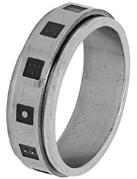 Voylla Silver Plated Ring for Men (8907275761884)