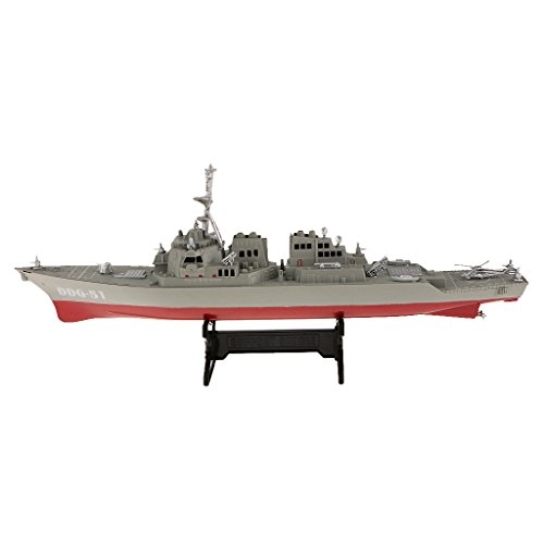 1/350 Maßstab Kunststoff-Zerstörer Kriegsschiffe Modell Spielzeug Sammler