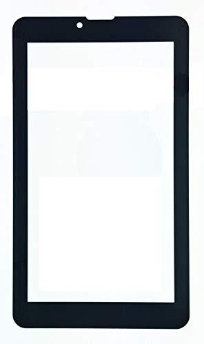 vetro tablet majestic NO ORIGINALE Vetro per Touch Screen Majestic Tab-647 3G Tablet Nero + Biadesivo
