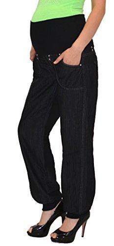 shose Umstandshose Damen Hose für Schwangerschaft bis große Größen Übergrösse U-J133 ()