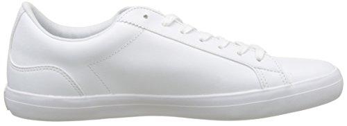 Lacoste Lerond Bl 1 Cam Wht, Basses Homme Blanc (Wht)