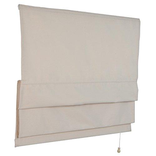 Miadomodo Raffrollo als Sicht- und Sonnenschutz in zwei verschiedenen Farben
