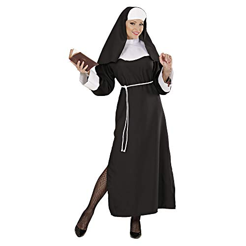 Widmann Erwachsenenkostüm Nonne Therese (Gott Halloween-kostüm Ideen)