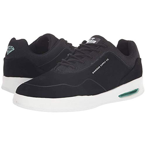 Diamond Supply Co. Men's Tucker Pro Low Top Sneaker Shoes Black Wht 10.5 (Diamond Supply Skateboard)