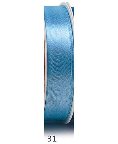 Double Satin Bleu clair 31 6 mm 50 m