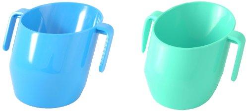 Doidy Cup 10114 Spar-Doppelpack, blau/türkis