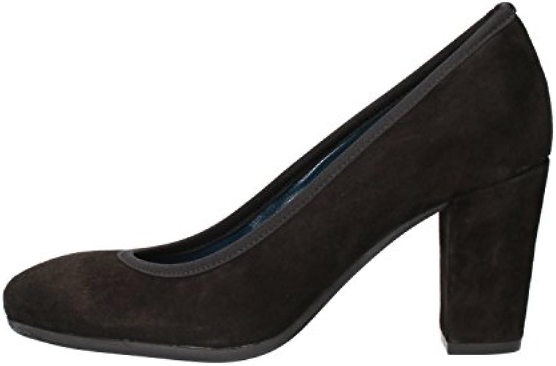 Donna   Uomo Keys Decolté Donna Pelle Scamosciata Nero economico Nuovi prodotti nel 2018 Moda scarpe versatili   The Queen Of Quality    Uomo/Donna Scarpa
