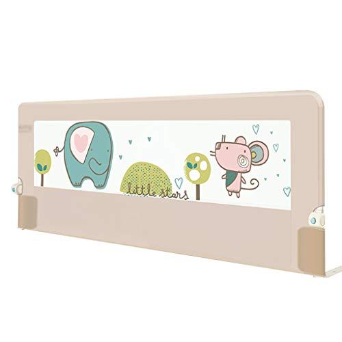 Extension de Hauteur de Rail de lit pour Berceau très Long pour Le Rail de Garde de lit de bébé d'enfants pour Le Double lit 180cm × 75cm (Couleur : A)