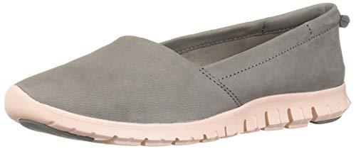 Cole Haan Damen Zerogrand Aline Loafer flach, Silber (Ironstone Nubuck/Tropical Peac), 39 EU (Cole Haan Frauen Schuhe)