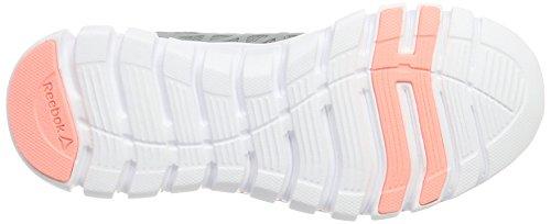 Reebok Damen Sublite XT Cushion 2.0 MT Laufschuhe Grau (Flint Grey/sour Melon/white/pewter)