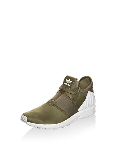 adidas Uomo Zx Flux Plus Sneakers stringate oliva / bianco