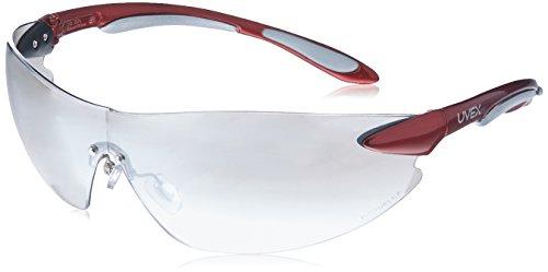 Uvex s4412Ignite Sicherheit Eyewear, rot metallic und Silber Rahmen, sct-reflect 50hartbeschichtet Objektiv