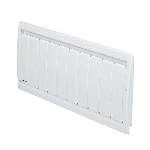 radiateur à inertie - applimo soleidou smart ecocontrol - 1000w - bas - blanc