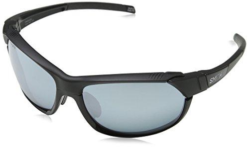 Smith Unisex-Erwachsene OVERDRIVE/N XB 003 61 Sonnenbrille, Matt Black/Slf Silver,