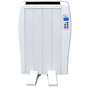 LODEL 4 Emisor térmico digital, seco, program diario 6, 600 W, Blanco